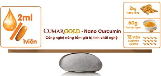 CumarGold trị viêm loét dạ dày hiệu quả
