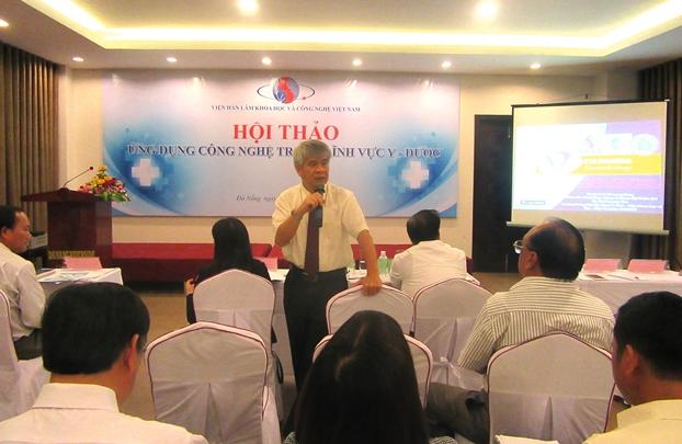 GS.TSKH Dương Ngọc Hải phát biểu tại Hội thảo
