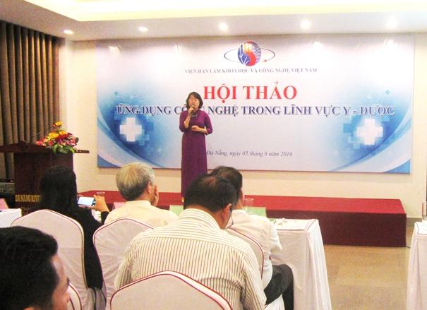 """Đề tài """"Công nghệ Nano – Nâng tầm giá trị dược liệu Việt"""" nhận được sự quan tâm lớn tại hội thảo"""