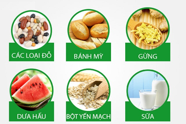 Những loại thực phẩm người đau bao tử nên ăn.