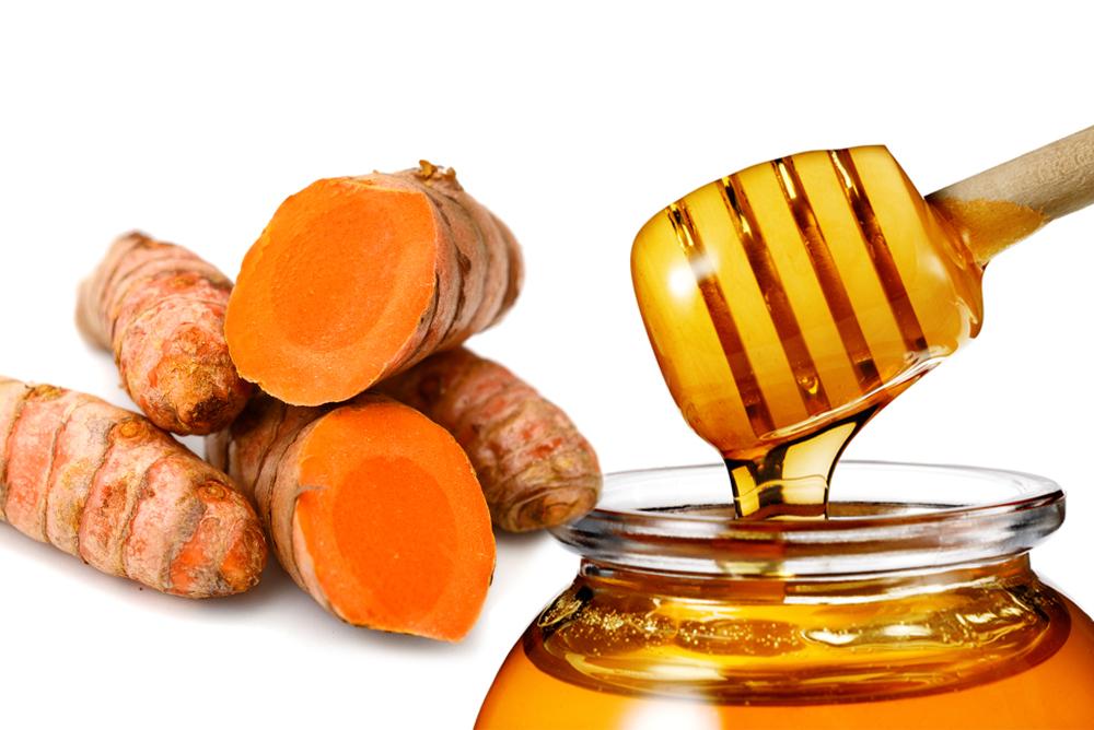 Tác dụng của tinh bột nghệ mật ong với da