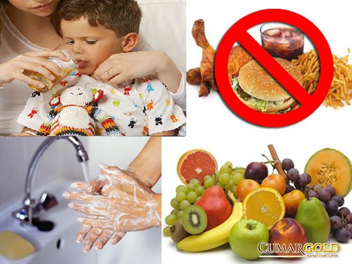 Chế độ chăm sóc trẻ bị viêm dạ dày ruột cấp ở trẻ