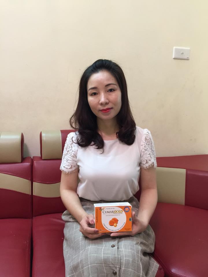 Chị Nguyễn Thị Thanh Hương đã khỏi bệnh dạ dày nhờ CumarGold