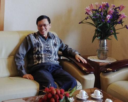 Chú Lê Ngọc Liêm sẵn sàng chia sẻ thông tin với độc giả theo số 0123.869.2510