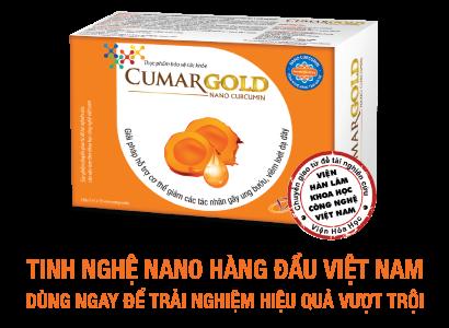 CumarGold - Nano Curcumin tốt nhất Việt Nam