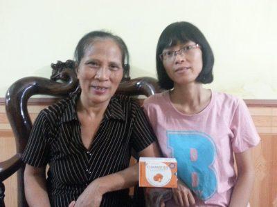 Sống khỏe sau những đợt hóa xạ trị u vú của cô giáo Bắc Giang