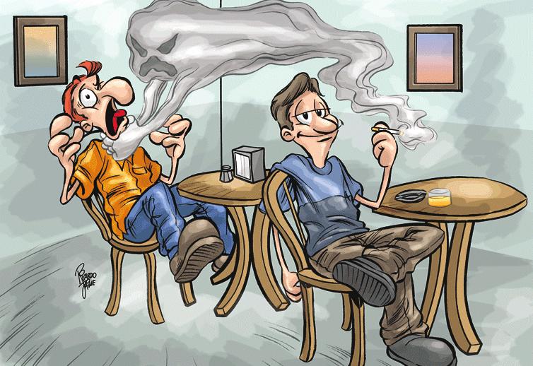 hút thuốc lá chủ động và thụ động đều tăng nguy cơ ung thư