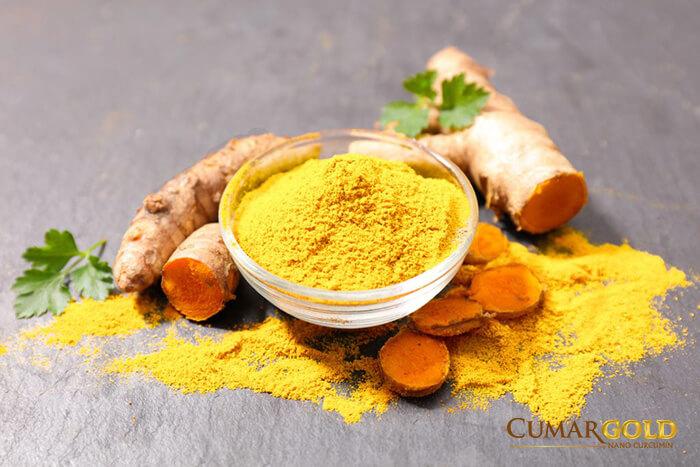 Nghệ vàng là tinh chất quý trong điều trị viêm loét dạ dày.