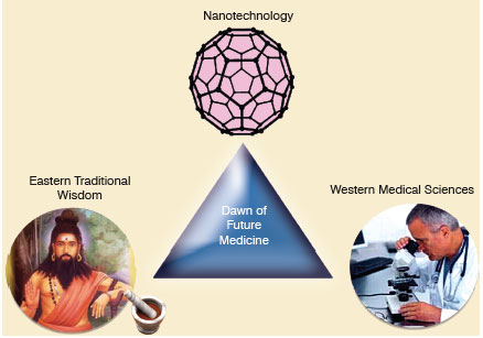 Một sự kết hợp giữa Đông và Tây dược hệ thống kết hợp công nghệ nano có thể mở ra một kỷ nguyên mới của y học trong tương lai