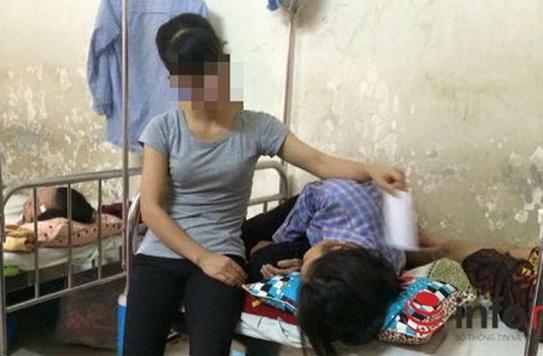 Nhiều phụ nữ là nạn nhân của thuốc lá thụ động hiện đang phải điều trị tại Bệnh viện K2
