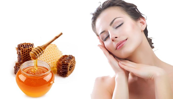 Uống nghệ với mật ong giúp làm đẹp da.