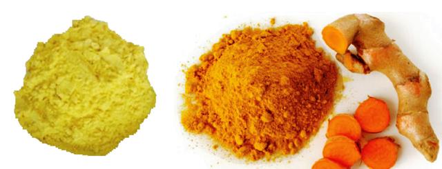 Tinh bột nghệ vàng hay đỏ tốt hơn?