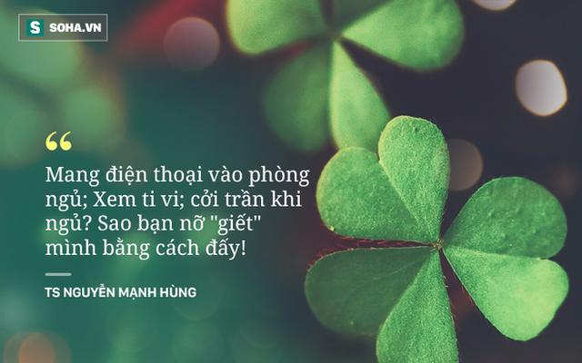 Những lời khuyên của TS Nguyễn Mạnh Hùng về sức khỏe