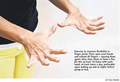 Các bài luyện tập ngăn ngừa bệnh khớp