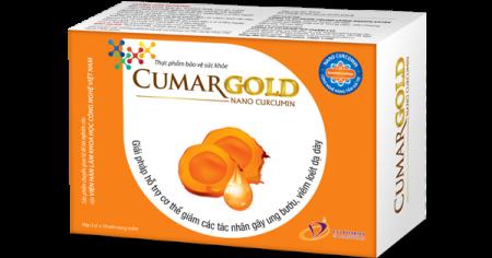 Cumargold – Nano curcumin chính hãng Viện Hàn Lâm KH & CN Việt Nam