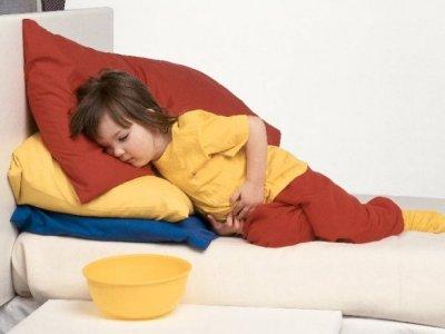Trẻ em cũng bị mắc dạ dày