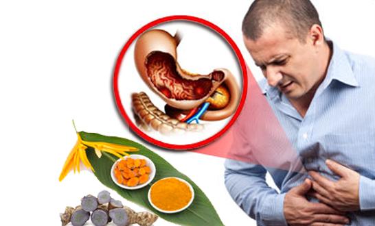tinh bột nghệ có tác dụng gì với người đau dạ dày