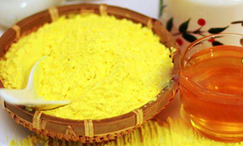 Tinh bột nghệ vàng có tác dụng chữa bỏng