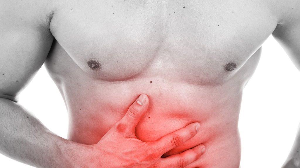 Đau vùng bụng trên là triệu chứng thường gặp