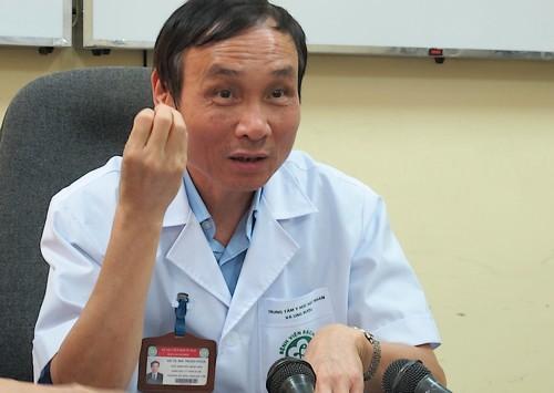 Giáo sư Mai Trọng Khoa khẳng định khối u không thể mổ được