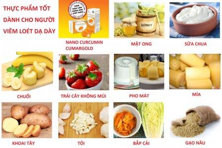 Top 10 thực phẩm hữu ích cho người đau dạ dày