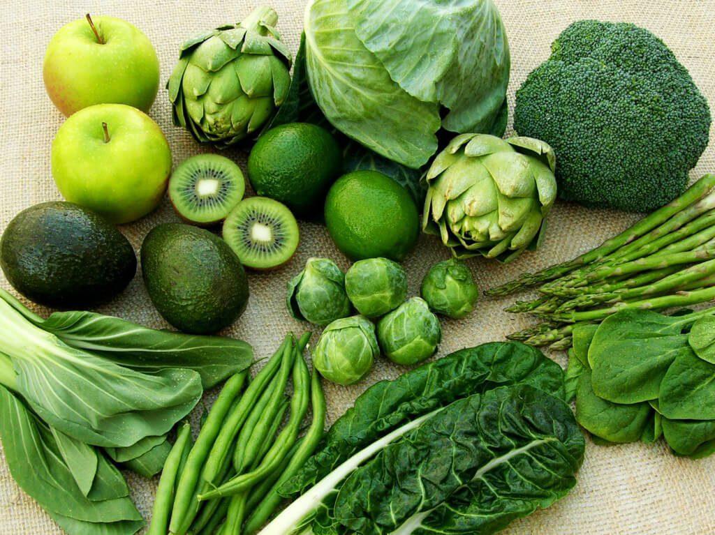 Bệnh nhân đau dạ dày nên ăn nhiểu rau xanh