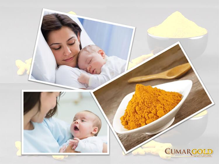 Tinh bột nghệ có rất nhiều tác dụng đối với phụ nữ sau sinh