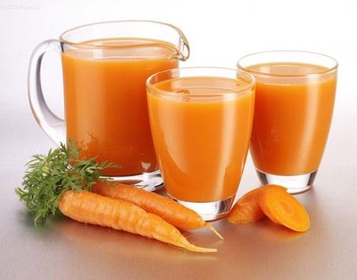 nước ép cà rốt trả lời cho viêm loét dạ dày nên ăn gì