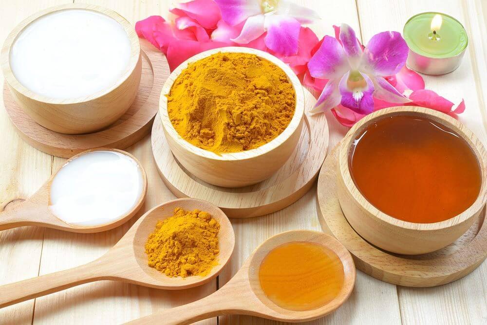 Bài thuốc trị đau dạ dày từ mật ong + nghệ