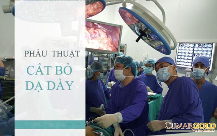 Phẫu thuật cắt bỏ dạ dày