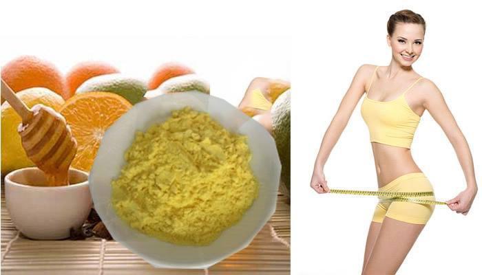 tác dụng của tinh bột nghệ giảm béo sau sinh