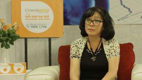 TS BS Nguyễn Thị Quỹ chia sẻ về CumarGold và vi khuẩn HP