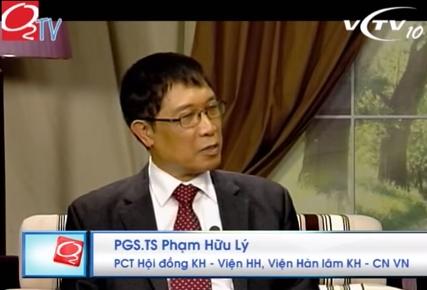 PGS-TS Phạm Hữu Lý, Phó chủ tịch hội đồng khoa học, Viện Hàn lâm Khoa học - Công nghệ Việt Nam (Viện HLKHCNVN)