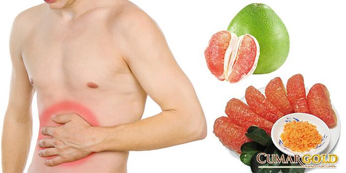 Bị đau dạ dày ăn bưởi được không?