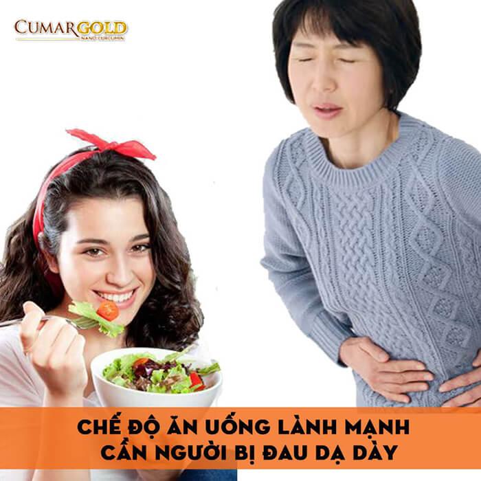 Chế độ ăn uống đối với người bị đau dạ dày