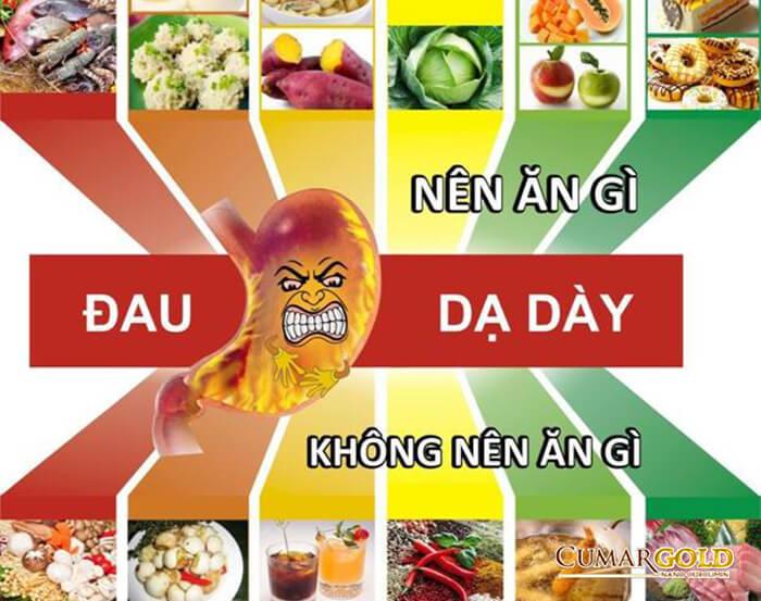 Lưu ý chế độ ăn cho người bị đau dạ dày