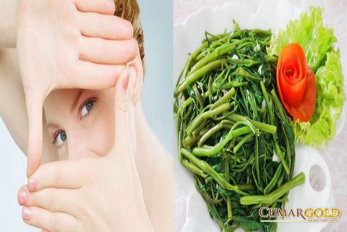 Đau dạ dày có nên ăn rau muống