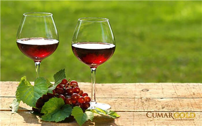 Nước mía kết hợp với rượu nho