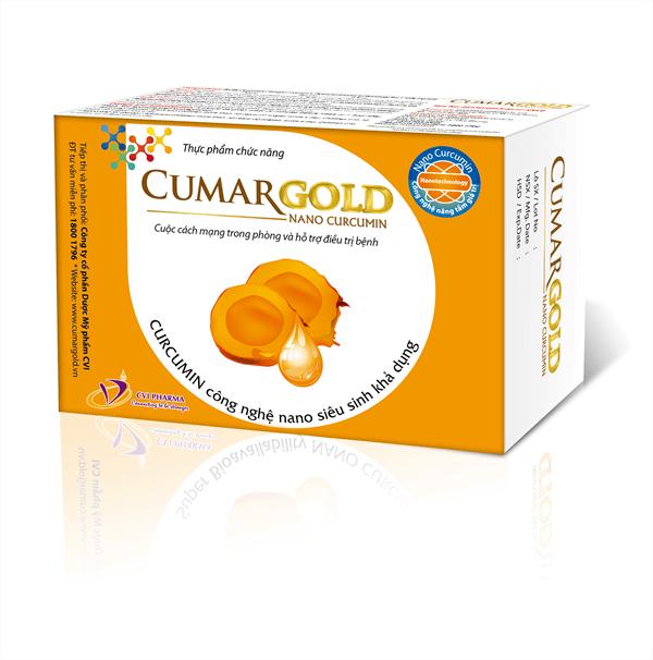 CumarGold là sản phẩm được Bộ y Tế cấp phép