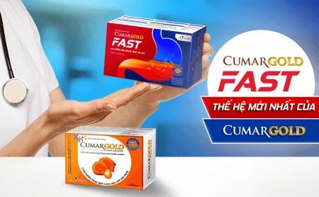 """CumarGold và CumarGold Fast – """"bộ đôi đắc lực"""" hỗ trợ điều trị hiệu quả cho bệnh nhân viêm loét dạ dày"""