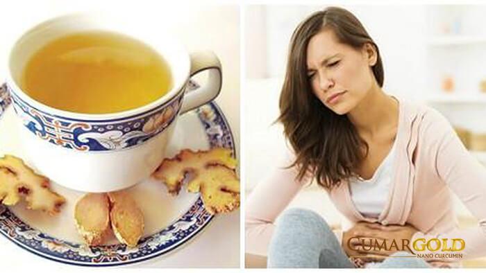 Tác dụng của gừng đối với người đau dạ dày