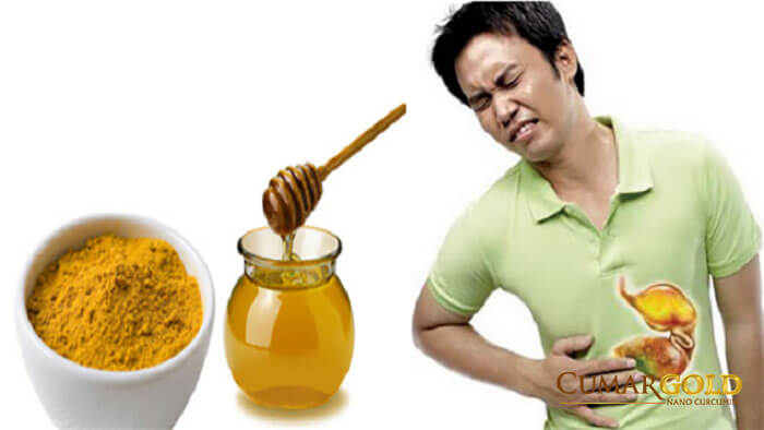 Cách uống tinh bột nghệ chữa dạ dày