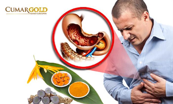 Công dụng của tinh bột nghệ đối với người bị đau dạ dày