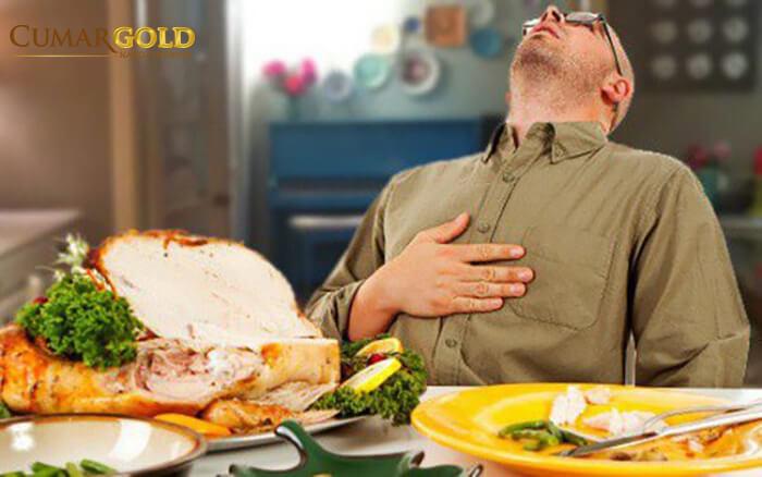 Đau thượng vị thường xuất hiện những cơn đau dạ dày sau khi ăn