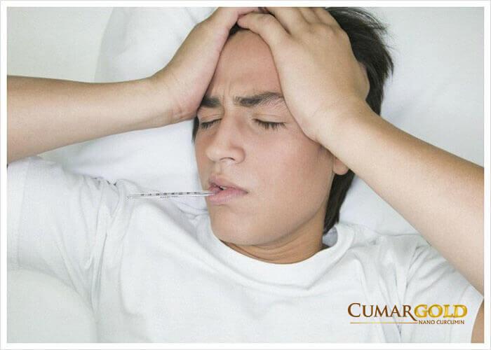 Bệnh nhân viêm loét dạ dày tá ràng bị sốt