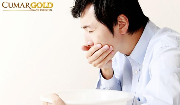 Ợ chua cũng là một trong những biểu hiện viêm hang vị