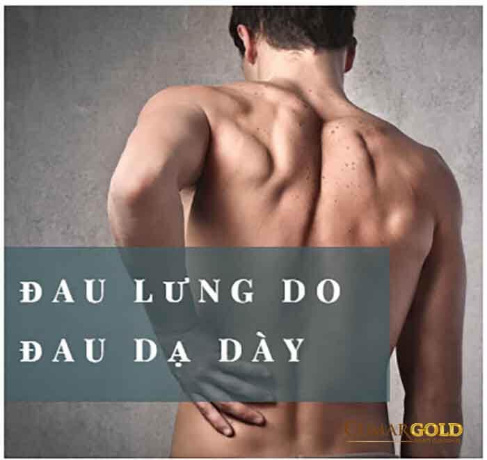 Phân biệt đau lưng do đau dạ dày với đau lưng do bệnh khác