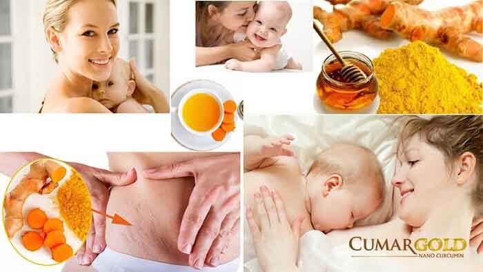 Tác dụng nghệ ngâm mật ong cho phụ nữ sau sinh