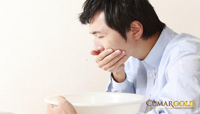 Loét dạ dày triệu chứng là buồn nôn