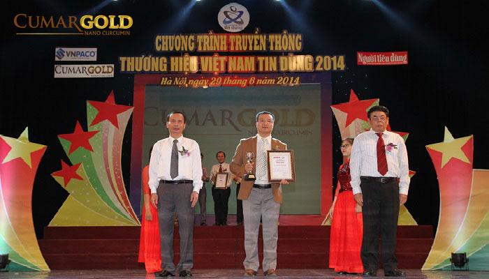 CumarGold đạt top 10 thương hiệu Việt Nam